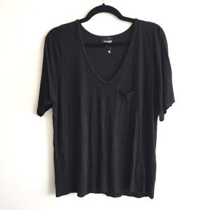 ARITZIA Wilfred Free Oversized V Neck T-Shirt M